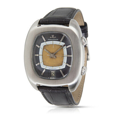 Jaeger-LeCoultre Memovox E872 Vintage Mens Watch in Stainless Steel