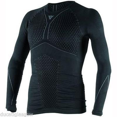 Dainese D-Core Thermo Tee Long Sleeved Black/Grey