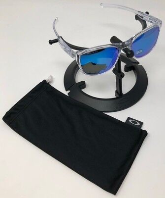 1d6c01b9548 Authentic Oakley Sunglasses TrillbeX Sapphire Polarized Polished Clear  OO9340-05