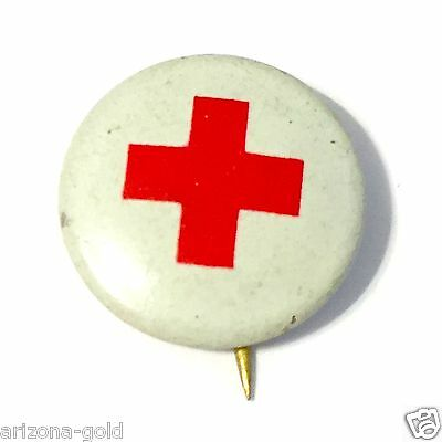 Vintage Red Cross Pin Antique Collectible American Red Cross pinback RANDOM PICK