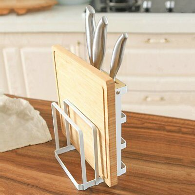 Household Multi-Function Knife Rack Cutting Board Tool Rack Wrought Iron WE