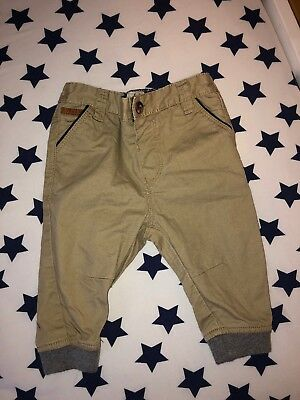 771b37bdc Baby Boys BAKER By Ted Baker Stone Beige Colour Chino Trousers. Age 6-