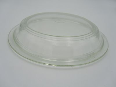 Vintage Pyrex Clear Glass Dome Round Lid 723-C for 9.5-inch Round 1.5-Quart Bowl