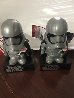 NEW! Lot Of 2 Star Wars Captain Phasma Talking Mini Candy Dispenser