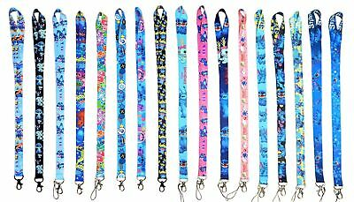 Lilo & Stitch Themed Lanyards with Clip - ID / Badge Holder ~ Brand NEW Lanyard