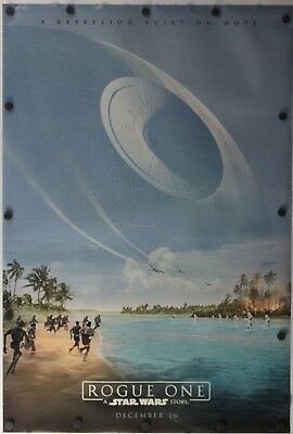 "Rogue One: A Star Wars Story 2016 Double Sided Original Movie Poster 27"" x 40"""
