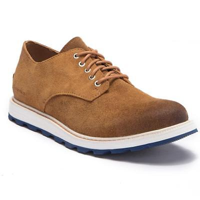 e834e37c848 NEW $150 SOREL mens Madson Oxford waterproof lace up suede shoes Brown