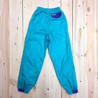 Columbia Windbreaker Pants Youth M VTG 90's Color Block Child's M Hip Hop Dance