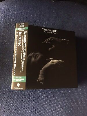 The Smiths - The Queen Is Dead Deluxe 3 SHM-CD + DVD Japan Import w/ obi