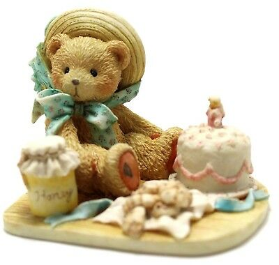 Cherished Teddies Hooray For You Bear Figurine Anna 1991 #950459