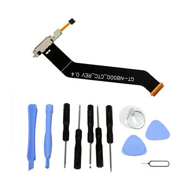 Charge Port with Flex Cable for Samsung Galaxy Tab 10.1 Tab 2 10.1 Rev 1.6D Part