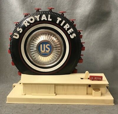 1964-65 NY World's Fair US Royal Tires Ideal Toy Ferris Wheel No box/Not Working