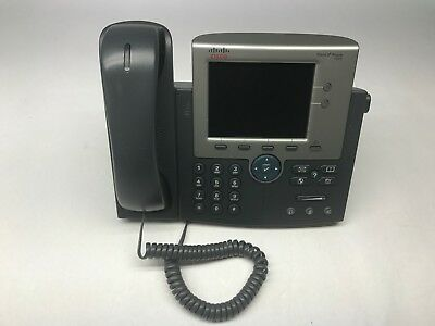 Cisco 7945G cp-7945g 7945 Series telephone IP VOIP Phone Base handset included