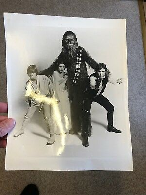 Star Wars Original Release Promo Autograph Photo