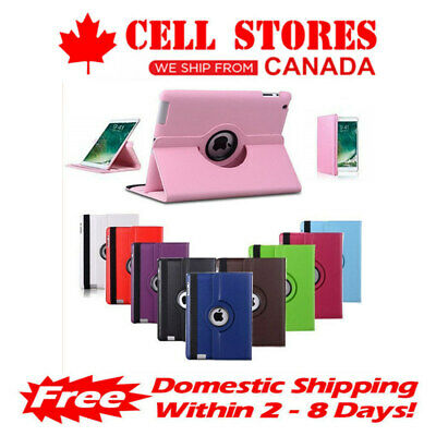 360 Rotating Leather Case Cover Stand for iPad Mini 1 2 3 4
