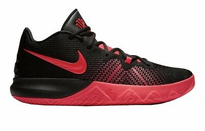 aab7cea63723 Nike Kyrie Flytrap Black Red Orbit White Basketball Shoes Size 10