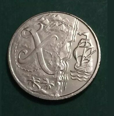 Rare 2018 Alphabet A-Z 10p Ten Pence Coin X Marks The Post From Sealed Bag