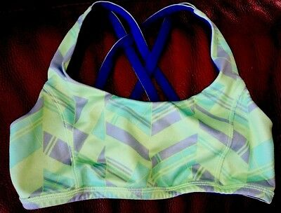 21ea94ea310db PRE-OWNED GIRLS IVIVVA Sport Bra Size 12 -  12.99