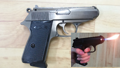PPK Lighter cosplay 007 costume party prop cosplay james bond movie pistol gun