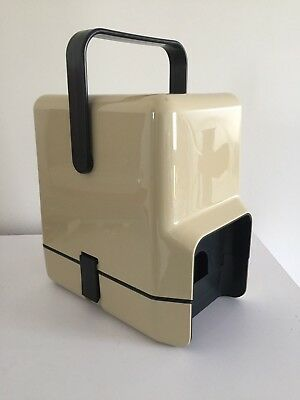 Vintage Retro Decor Insulated Wine Cask Cooler Carrier Holder Beige