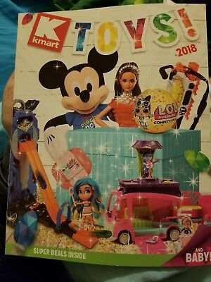 Kmart Toys Catalog 2018, Christmas Toy Catalog Book, Kmart Catalog, NEW 43 PAGES