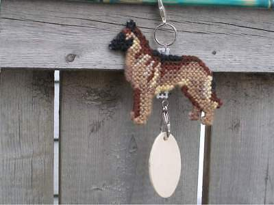 Belgian Malinois dog crate tag or hang anywhere handmade sign any day ornament