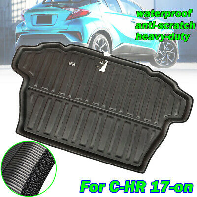Rear Boot Liner Cargo Luggage Tray Trunk Floor Mat For Toyota C-HR CHR 2017-2019