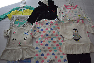 New 14 Pc. Lot Of Newborn Baby Girl Clothes 0-3 Months Nwt $162