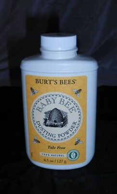 BURT'S BEES BABY BEE DUSTING POWDER, TALC-FREE, 4.5oz. BOTTLE, 100% NATURAL!