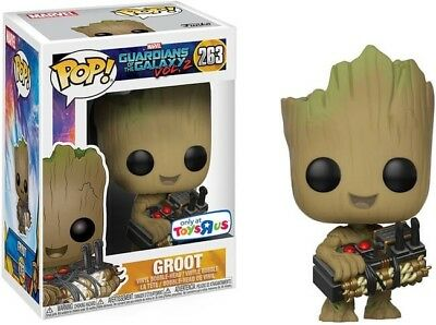 Guardians of the Galaxy Vol. 2 Funko Pop! Vinyl - Groot With Bomb