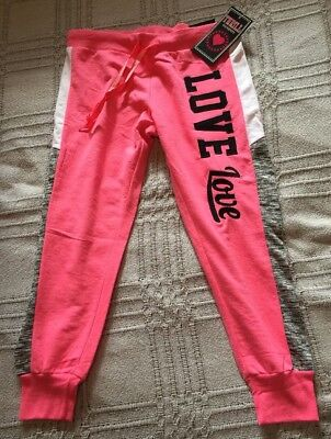 New Women's Thrill Maternity Pink Sweatpants Size Large