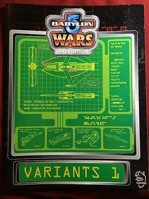 Babylon 5 Wars: Variants 1 - Agents of Gaming - BW-157 - NEW