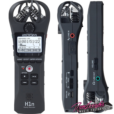 Zoom H1N Handy Recorder Portable Field Recorder with Stereo X/Y Microphones