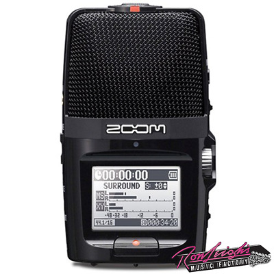 Zoom H2n Handy Stereo Portable Media Recorder - Great for Gigs and Rehearsals
