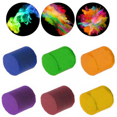 Colorful Smoke Cake Smoke Effect Show Round For Stage Photography Aid Tool Gift