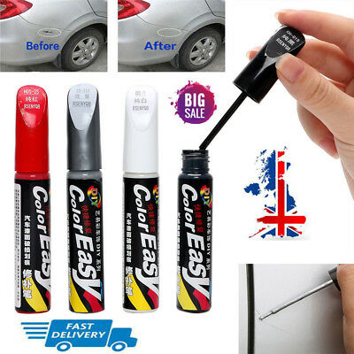 1PC DIY Car Clear Scratch Remover Touch Up Pens Auto Paint Repair Pen Brush UK