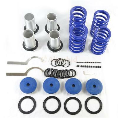 Adjustable Lowering Coilover Coil Spring Kit for Honda 98-02 Accord Blue