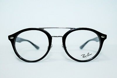 c627d81302b New Ray Ban Rb5354 2000 Black Round Authentic Eyeglasses Rx5354 Rx 50-21-145