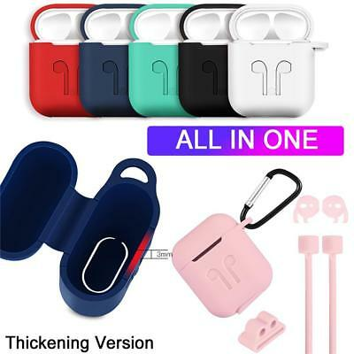 For Apple AirPods Case Protective Silicone Cover AirPod Earphone Charger Skin A+
