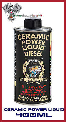 Ceramic Power Liquid Diesel 400Ml Additivo Trattamento Motore Fino A 2.000Cc