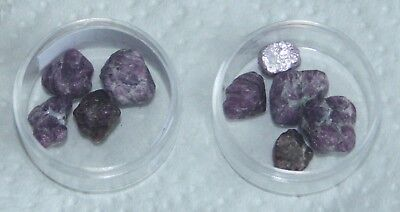22 Carats of Rough Pink Sapphires. 4/5 Pieces.