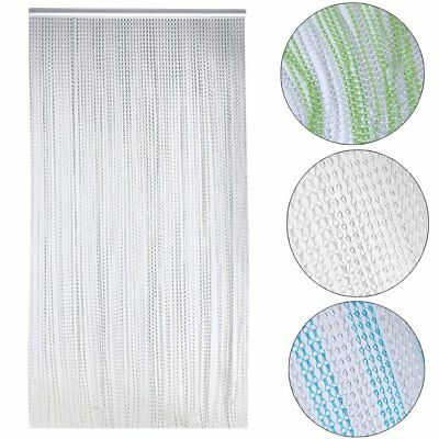 Metal Chain Link Insect Fly Door Curtain Blinds Screen Pest Control Aluminium UK