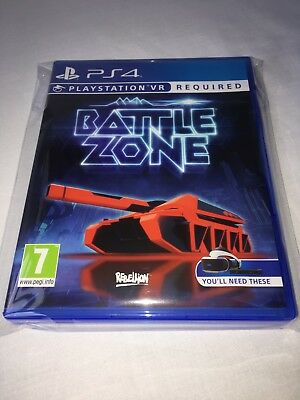Battlezone Vr - Uk Edition - Ps4 - Pal - Bestprice - Trusted Seller - Fast - New
