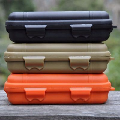 Outdoor Shockproof Airtight Survival Storage Case Container Waterproof Carry Box
