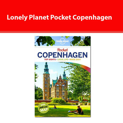 Lonely Planet Pocket Copenhagen Travel Guide Top Sights Local Life Made Easy NEW