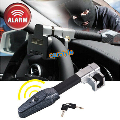 Micro Vibration Controlling Alarm Sound Car Steering Wheel Locks Anti Theft