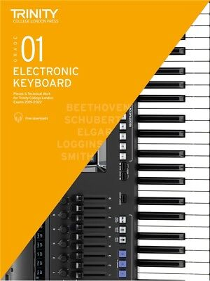 Trinity College: Electronic Keyboard Exam Pieces Grade 1 2019-2022