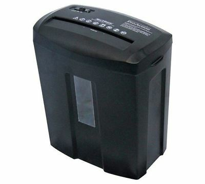 ProAction Paper Shredder 6 Sheet 15 Litre Micro Cross Cut A4 Auto on Reverse