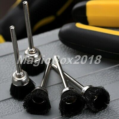 Nylon Wheels Cup Polishing Buffing Wire Brushes Electric Rotary Grinding Tool