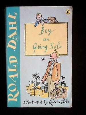 Going Solo By Roald Dahl New Paperback Book 248 Picclick Uk
